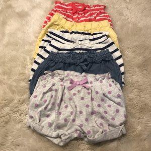 Bundle of Baby Shorts!